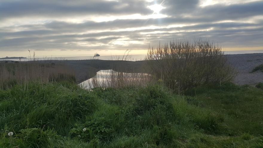 Sunrise Killiney Beach Ireland