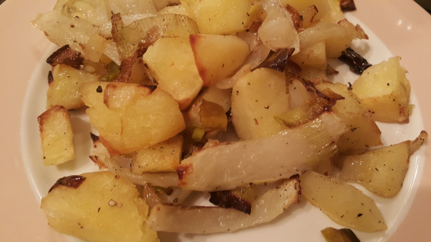 Fennel and Potato Roast