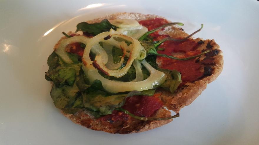Vegan Miniature Pizza